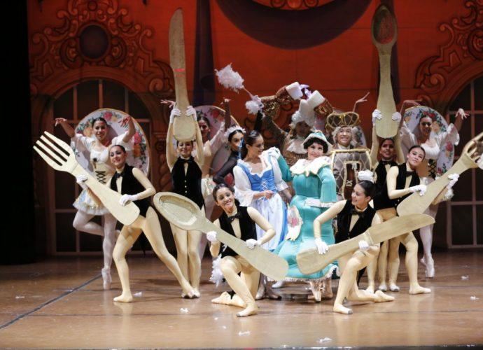 ballet nacional inicia temporada infantil La Bella y La Bestia