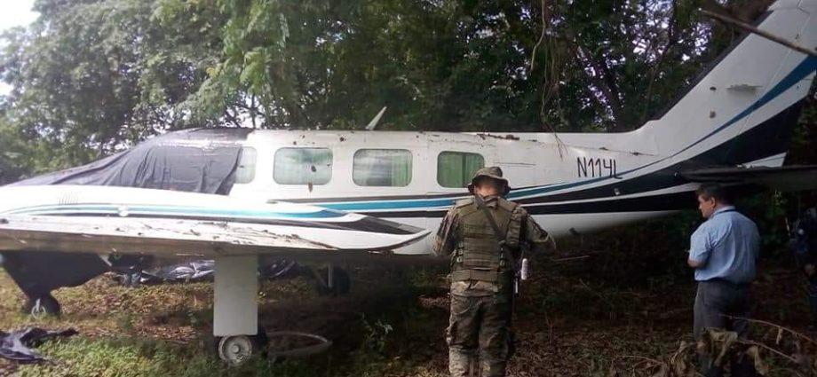 Avioneta localizada en Retalhuleu
