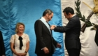 Condecoración a Embajador de Colombia 5