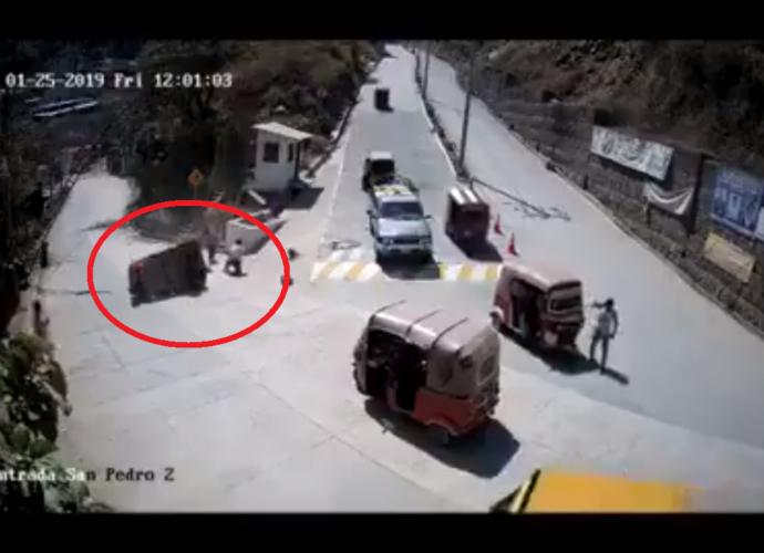 Accidente en San Pedro la Laguna Sololá