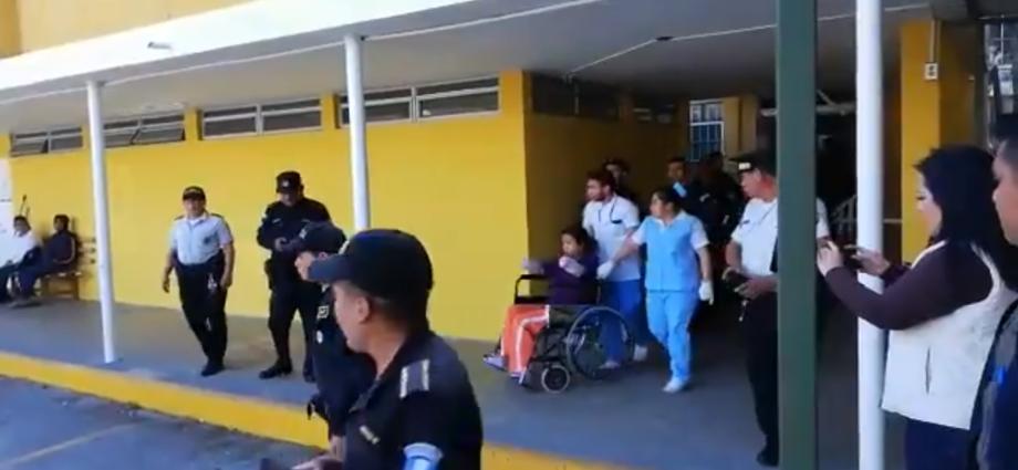 La Rancherita es trasladada al hospital roosevelt