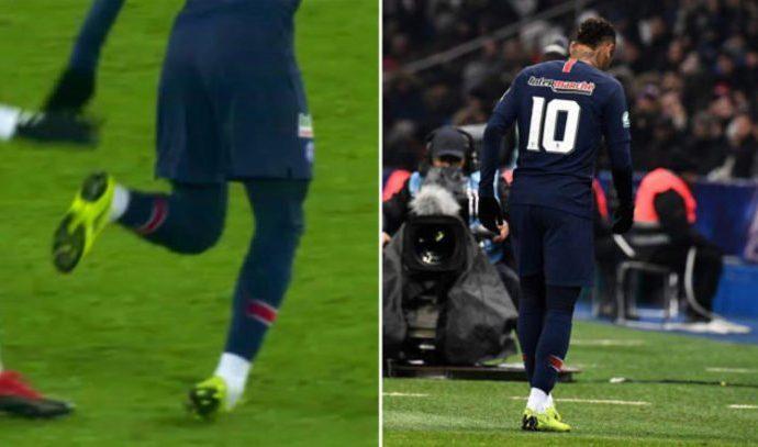 Neymar lesionado es duda para Copa América