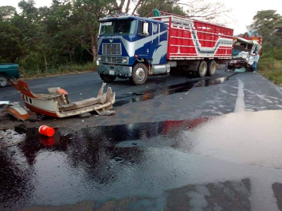 Fuerte accidente en Escuintla