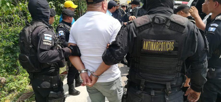 Capturan a narcotraficante con fines de extradición