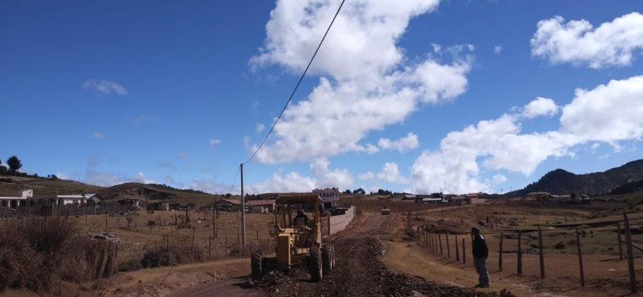 carreteras y caminos vecinales serán construidos durante es 2019 en Guatemala