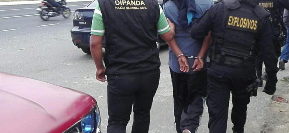 Extorsionistas capturados en Guatemala