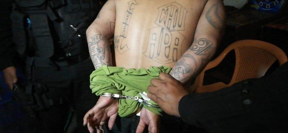Integrante del Barrio 18 de El Salvador capturado en Guatemala