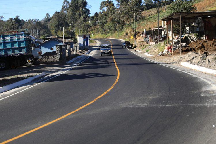 Carretera de San Marcos a Quetzaltenango