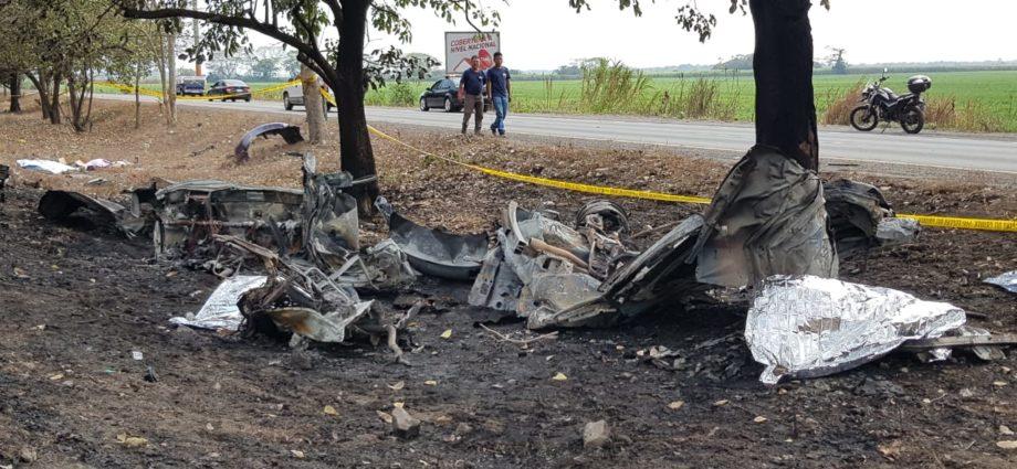 Cuatro fallecidos tras accidente en autopista a Puerto Quetzal