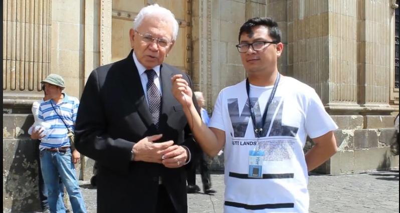 Miércoles de Ceniza, Entrevista Carlos de Triana