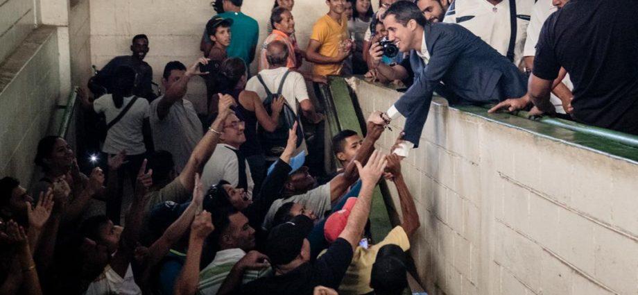 Juan Guaidó inicia gira para buscar apoyo de venezolanos