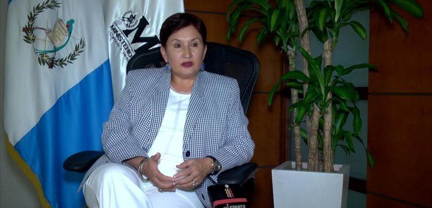 Orden de captura contra Thelma Aldana