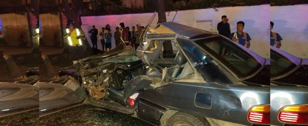 Fuerte Accidente en Calzada San Juan Guatemala
