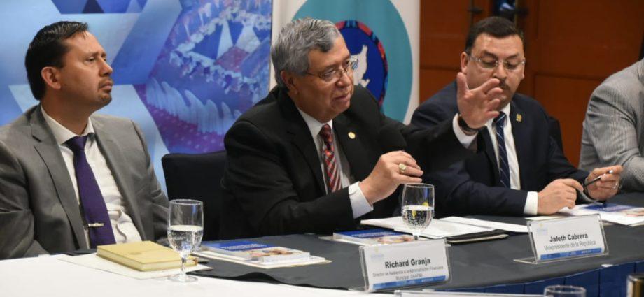 Vicepresidente de Guatemala Jafeth Cabrera