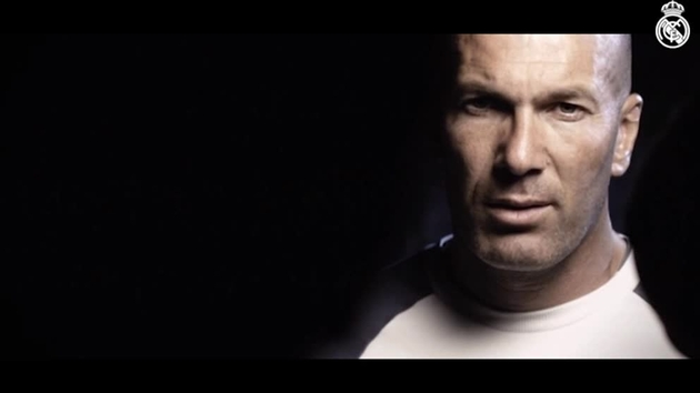 Video de bienvenida a Zinedine Zidane al Real Madrid