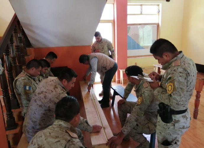 Capacitan a agentes de Diprona para detectar transportación ilegal de madera