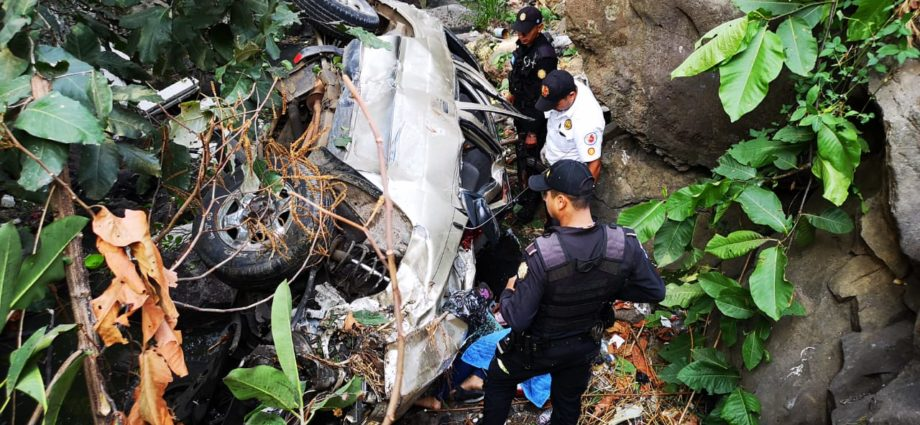 Accidente en Carretera a El Salvador