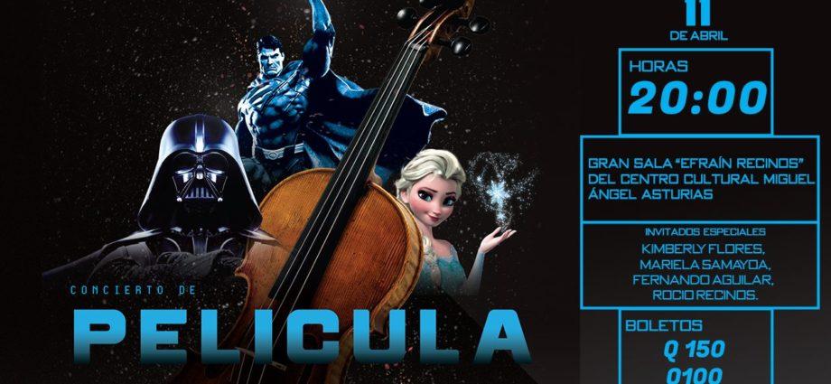 Concierto de Película de la Orquesta Sinfónica de Guatemala