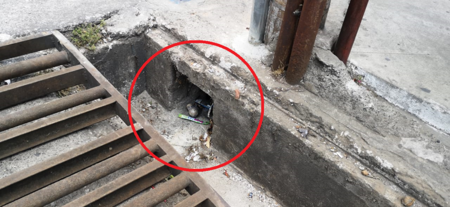 Artefacto explosivo localizado en La Brigada Mixco
