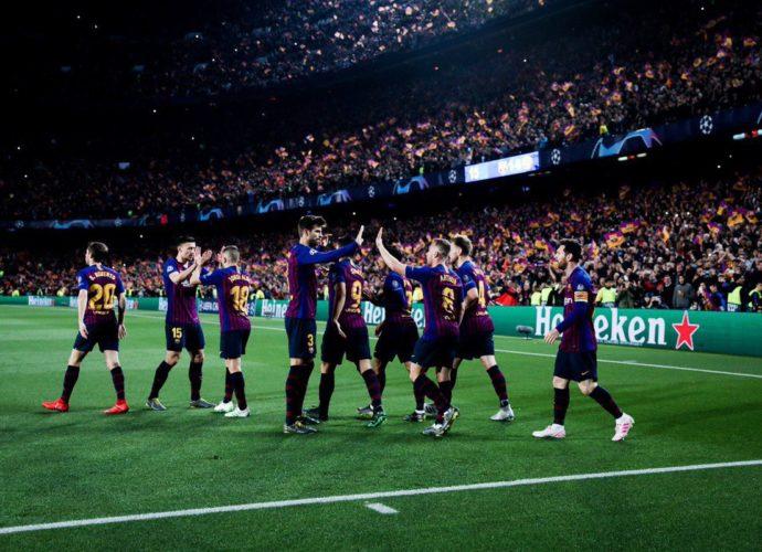 Barcelona clasifica a semifinales de Champions League