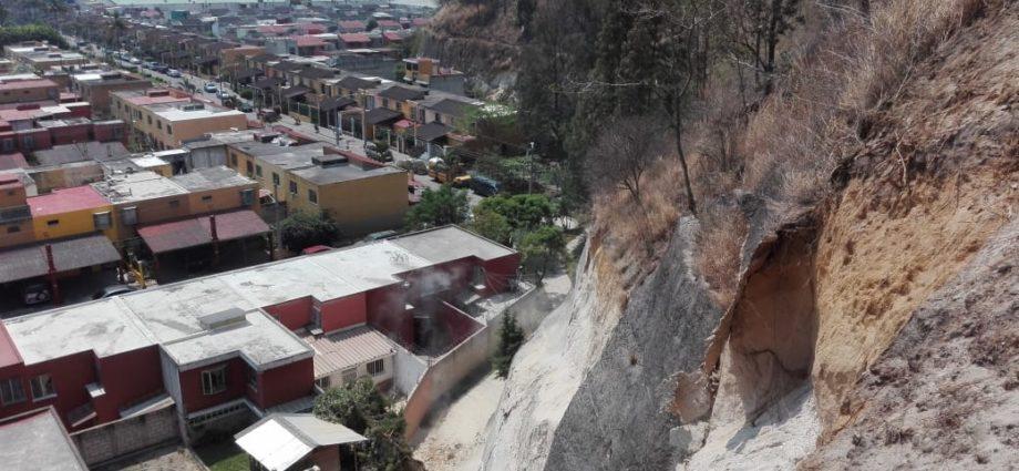 Deslizamiento de Tierra en El Tabacal Villa Nueva