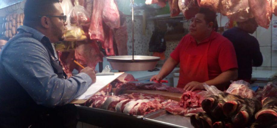 Operativos de verificación de carnicerías