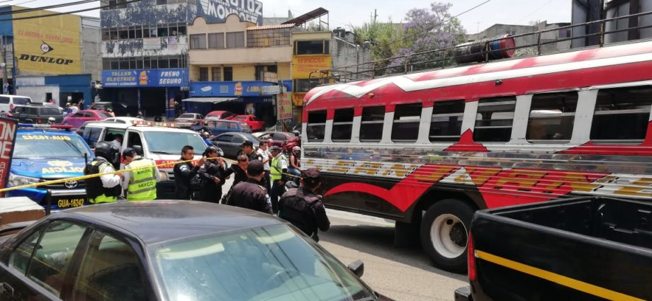 Ataque armado en Bus Ruta San Juanera