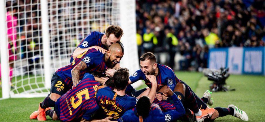 Barcelona vence al Liverpool 3-0 en semifinales de Champions League de Europa