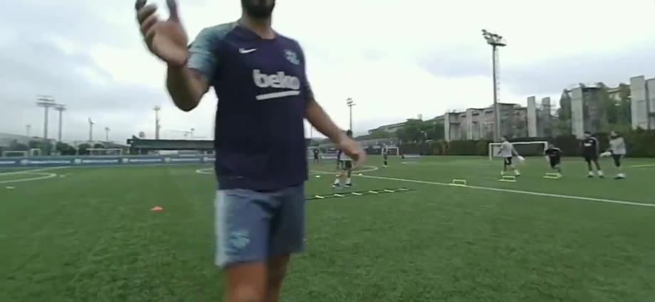 colocan cámara personal a Lionel Messi