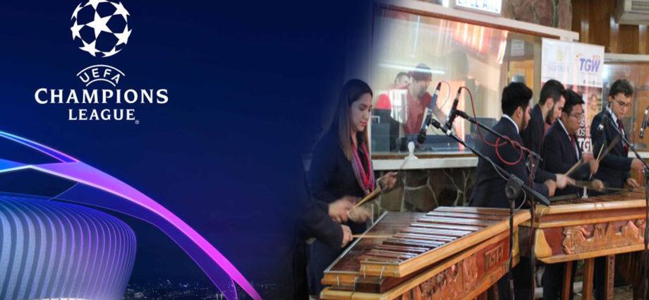 Himno de la Champions League en Marimba