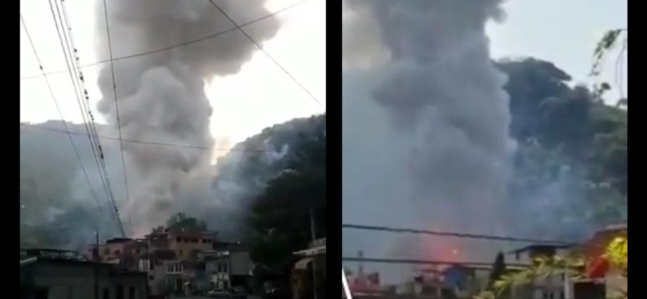 incendio en una cohetería la mesilla huhuetenango
