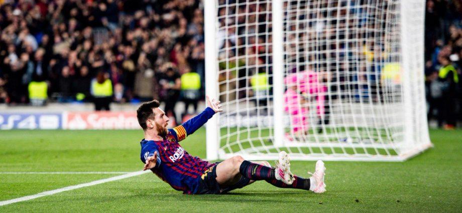 Lionel Messi marcó su gol 600 con el Barcelona