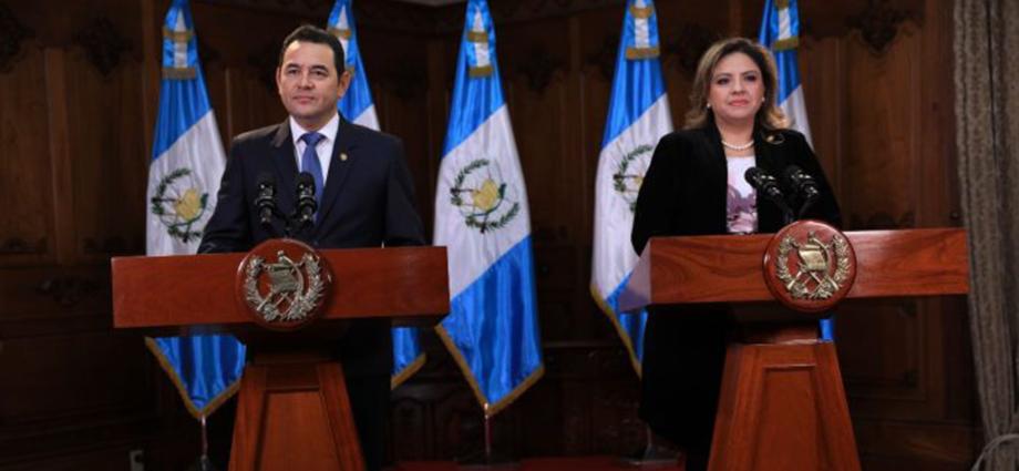 mensaje del presidente Jimmy Morales por consulta popular en belice