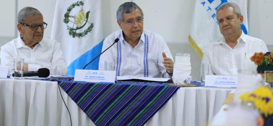 Presidente en Funciones Jafeth Cabrera