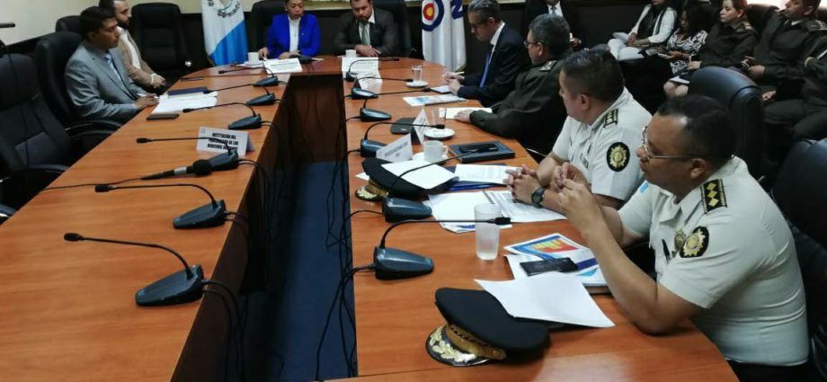 plan de seguridad de la PNC para las elecciones de guatemala