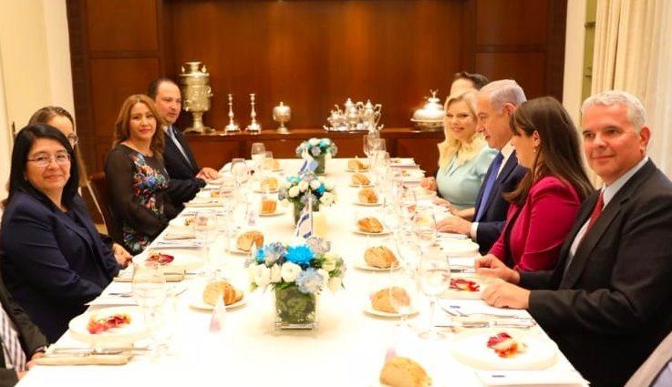 visita de primera dama de Guatemala a Israel