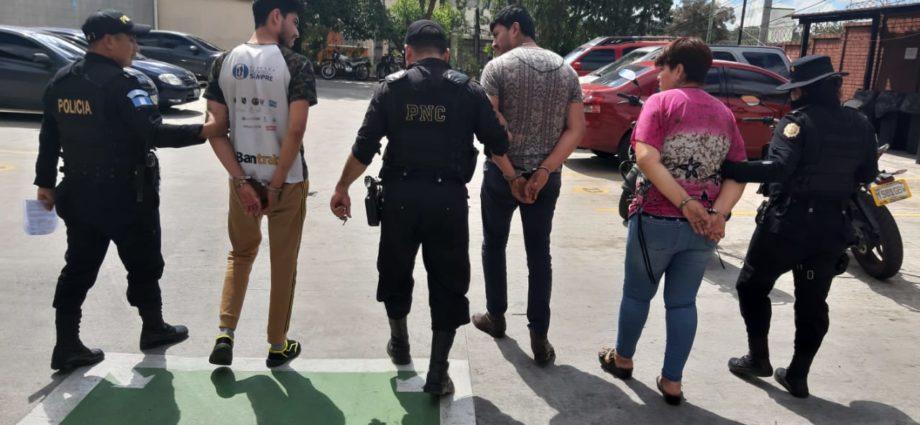 capturados por asesinara a hombre de 74 años en san francisco mixco