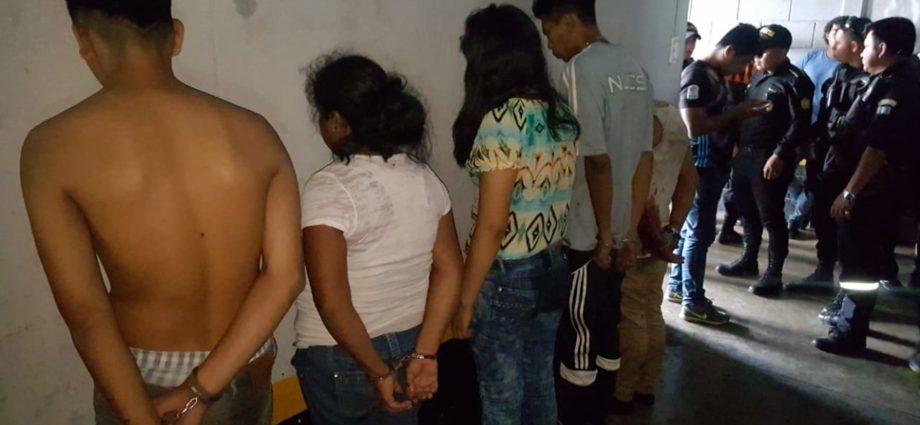 capturados por asesinar a pmt de villa nueva