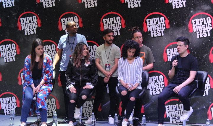 grupo Su Presencia en Explo Music Fest 2019