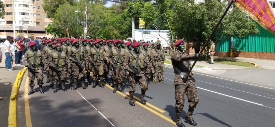 Día del Ejército en Guatemala