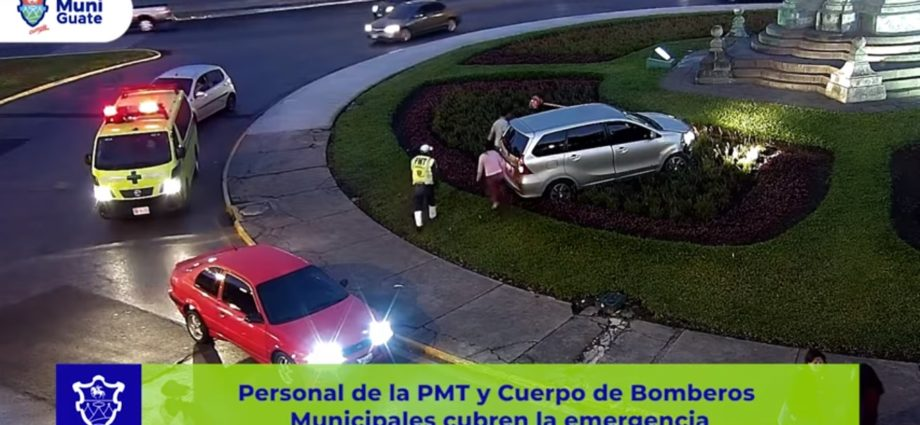 Accidente en avenida Reforma