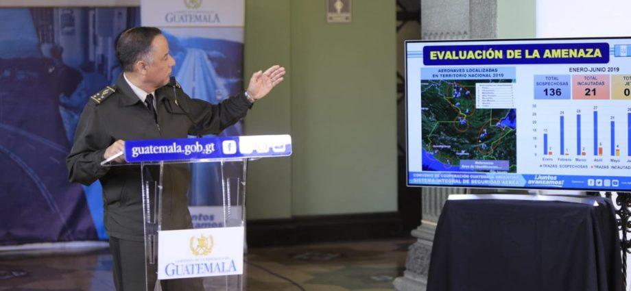 adquisición de aviones por el Gobierno de Guatemala