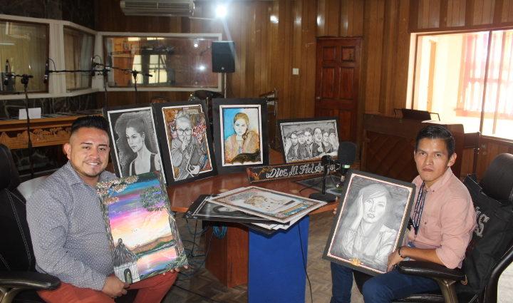 Dibujante Nelson Chub Paseo la Sexta