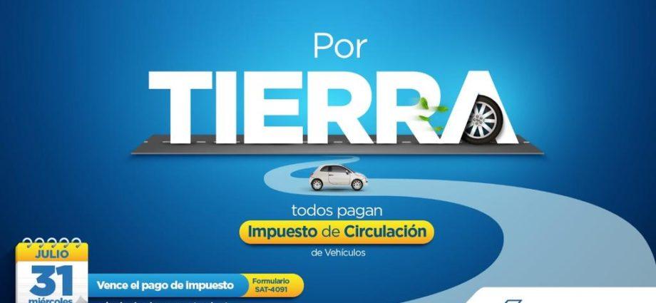 pago de impuesto de circulación guatemala