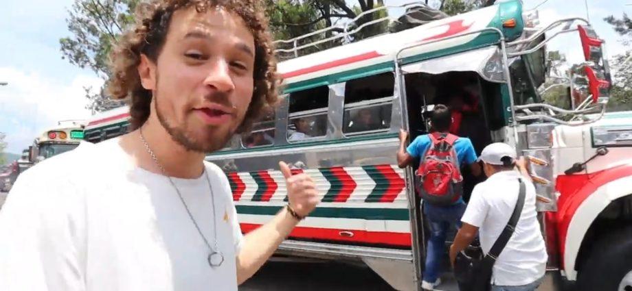 Luisito comunica en Guatemala buses