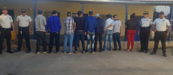 capturados por ley seca en guatemala