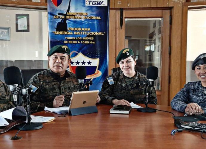 Ejército de Guatemala en Radio Nacional de Guatemala TGW