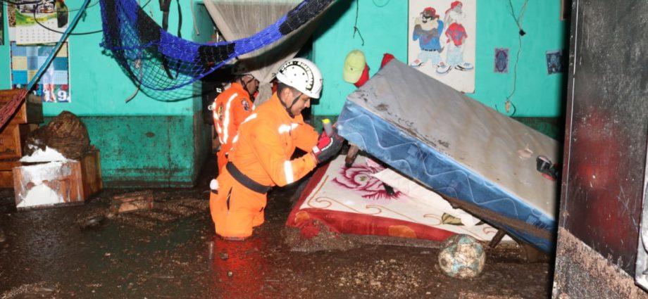 inundación en Amatitlán y Sacatepéquez Guatemala