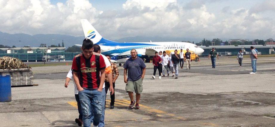 deportados de Estados Unidos a Guatemala