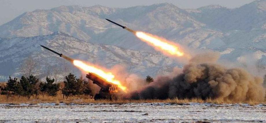 lanzamientos desde Corea del Norte